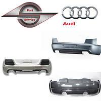 Бампер задний на Ауди Audi 100, 80, A3, A4 ,A5, A6, A7, A8, Q5, Q6, Q7,тд