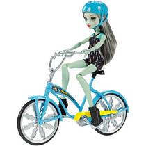 Кукла монстер хай Френки Штейн на велосипеде Monster High Frankie Stein Boltin' Bicycle & Doll