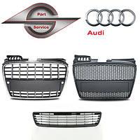 Решетка радиатора на Ауди Audi 100, 80, A3, A4 ,A5, A6, A7, A8, Q5, Q6, Q7,тд