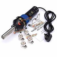 8018LCD  220В 450 Степень ЖК Регулируемые Электронный тепла Воздушный пистолет фен инструмент для распайки