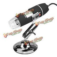 USB 8 LED 50 x-500 x 2-мегапиксельной цифровой микроскоп лупа видео Камераэндоскоп