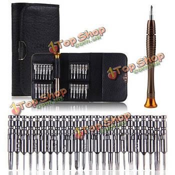 25в1 многоцелевой набор прецизионных отверток бумажник инструменты для ремонта