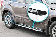 Боковые подножки BMW X3 с 2008 (V1)