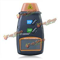Dt2234c+ цифровой лазерный об/мин тахометр бесконтактного измерения инструмента