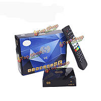 S-V6 Совместное использование HD спутниковый DVB-S2 ТВ приемник карты CCcam newcam mgcam BISS ключ USB Wi-Fi WebTV