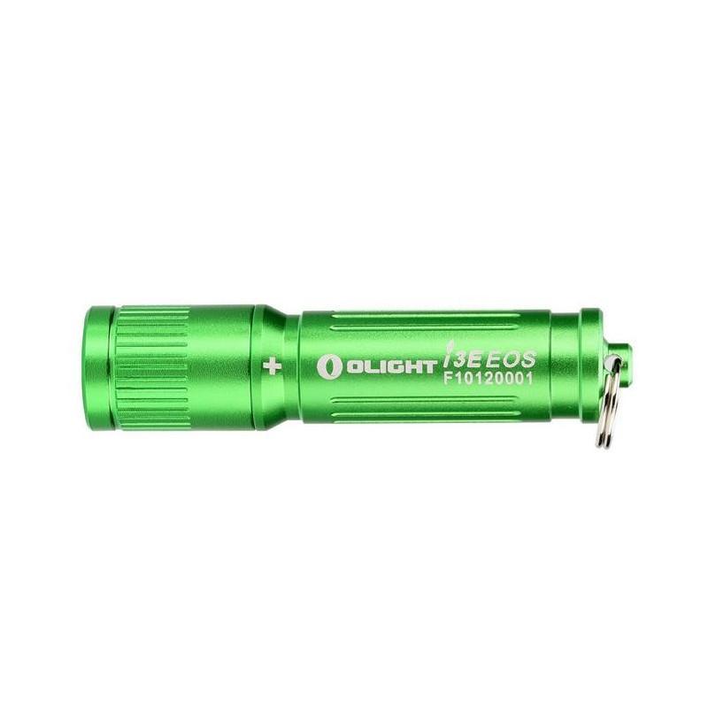 Фонарь Olight LED I3E-TX зелёный с батарейкой (I3E-GRN)