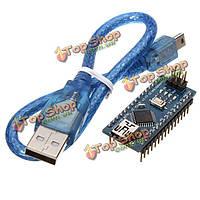 ATmega328P Arduino Compatible Nano V3 Improved Version с USB кабелем