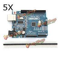 Совет по развитию для Arduino Geekcreit™ UNO R3 ATmega328P 5pcs