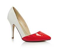 Яркие туфли на шпильке размеры 36,38-40