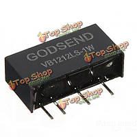 Изолированный силовой модуль 4 штырей преобразователя постоянного тока в 10-16в выход 12В 1Вт