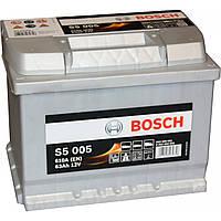 Аккумулятор Bosch S5 005 Silver Plus 63Ah 12V (0092S50050)
