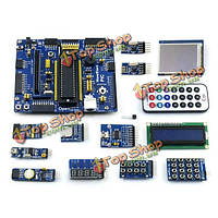 Рис семейства pic16 pic16f877a развития сердечник доски-доски комплект с 13 модулей