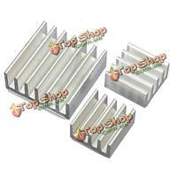 30шт клей алюминиевый теплоотвод кулер охлаждения комплект для Pi малины