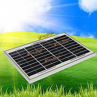 10Вт 12v Уатта поликристаллический поли зарядное модуль панели солнечных батарей
