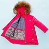 Зимняя куртка , пальто для девочки Сити  , фото 5