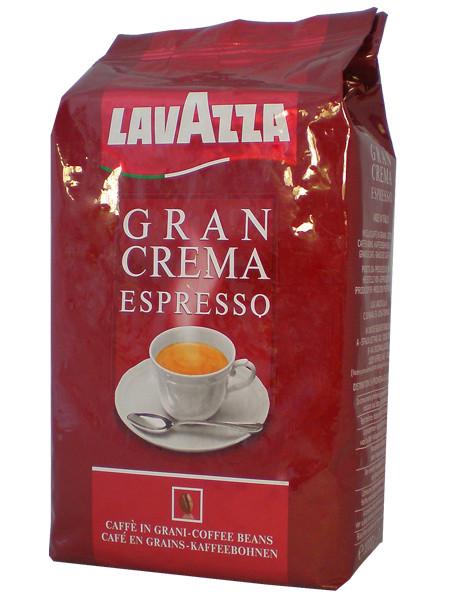 Кофе в зернах Lavazza Espresso Gran Crema 1кг.