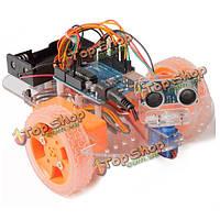 UNO R3 умный автомобиль diy отслеживания избежания комплект дистанционного управления для arduino