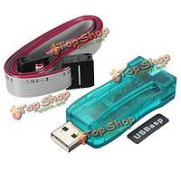 5В нем делается командой USBisp AVR и программатор Скачать с кабель 10 пиновый кабель чехол