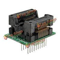 Программист адаптер гнездо 1.27 мм конвертер шаг 20-контактный разъем DIP20 sop20 к