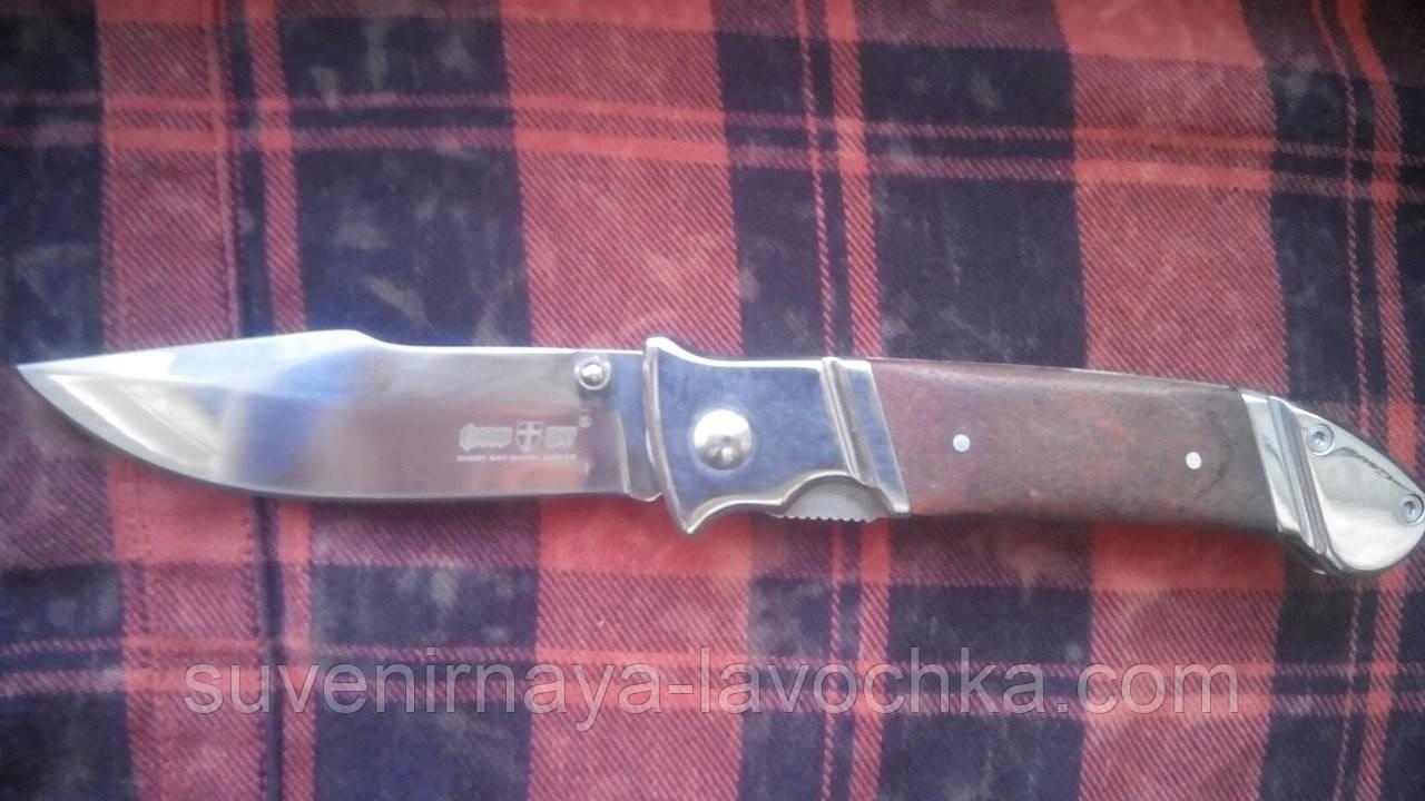 Нож складной хамелеон дерево/Нож резательный классика/Нож для резки колбаски