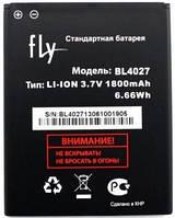 Аккумулятор для телефона FLY 4027 тех.упак. IQ4410 Quad Phoenix