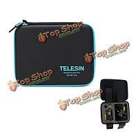 Телесин 6.5x17 x22cm большой размер водонепроницаемый защита хранения жесткий сумка для Sony HDR-as100v as30v as1