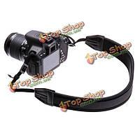 Отрегулировать ремень черный неопреновый ремень для Canon Nikon Сони пентакс DSLR камеры