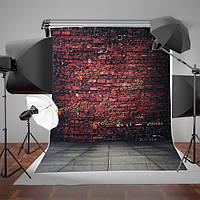 1.5x2.1m 5x7ft кирпичная стена пола этап студия проп фотографии фоном фон фото