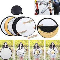 5в1 переносной складной мульти диск отражатель света фотографии фото студия