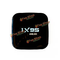 IX95 8Гб ром Андроид  5.1.1 2.4g + 5.0г Wi-Fi 100м LAN 4kx2k RAM Протокол Miracast DLNA ТВ-приставка мини-ПК 60fps Amlogic S905 четырёхъядерный 1Гб