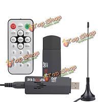 Директивы RoHS мини цифровой USB 2.0 ТВ приставка с FM+DAB-тюнера стандарта DVB-T тюнер приемник