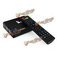 Ки DVB-S2 Amlogic четырехъядерным 1gb / 8gb Android 4.4 KitKat гибрид Коди TV Box мини Smart PC