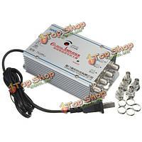 ШБ-7520fl9 220В 4 путь catv кабельное телевидение видеомагнитофон антенны усилитель сигнала