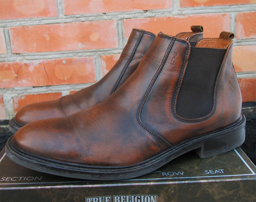 GANT ботинки челси КОЖА ОРИГИНАЛ (46) - VOVALAV - брендовая одежда и обувь в 565c5c73571f4