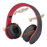 Andoer ЛХ-811 беспроводной стерео Bluetooth  3.0 EDR наушники карта MP3-плеер FM-радио проводная гарнитура с микрофоном