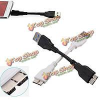 Интерфейс USB 3.0 a к B Micro синхронизации данных зарядное устройство кабель для Samsung Примечание 3