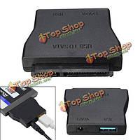 Адаптер питания данных 22 контактный разъем для 2.5-дюймовый жесткий диск с драйверами ГНБ SATA 12v 2a USB 3.0