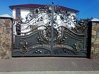 Кованые ворота 3000-2000