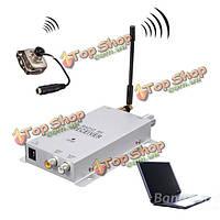700 ТВЛ CMOS 1.2G беспроводной AV CCTV камеры безопасности с видео аудио приемник