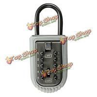 10-значный ключ цинка цифровой кодовый замок ящик сплава ключ шкаф для хранения на открытом воздухе безопасно высокий уровень безопасност