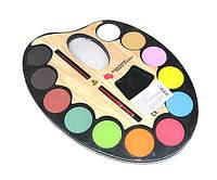 Краски для рисования 12 цветов