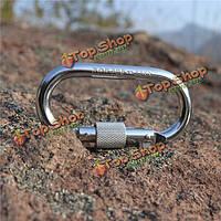 Xinda 25kN PRO безопасность пряжкой сталь о форме восхождения заблокировать открытый оборудование резьбы замок застежка спуск
