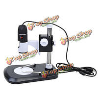 2-мегапиксельная увеличение 40x-800x 8 LED USB цифровой микроскоп эндоскопа лупы камеры