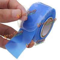 Производительность силикон ремонт сцепления спасение собственной фьюзинг проволоки шланг лента синий