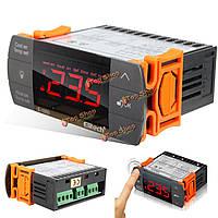220В трогайте цифровой регулятор температуры жк охлаждения выключатель отопления термостат