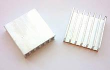 Радиатор алюминиевый 20*20*6 мм. 1 шт.