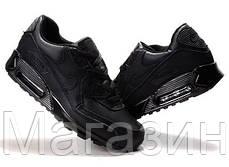 Мужские кроссовки Nike Air Max 90 Найк Аир Макс 90 черные, фото 3