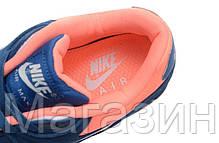 Мужские кроссовки Nike Air Max 90 Premium, найк аир макс 90 синие, фото 3