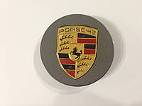 Заглушки колпачки литых дисков Porsche графит
