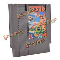Хадсона приключения остров 3 72 контактный 8 бит карточная игра картридж для NES Нинтендо